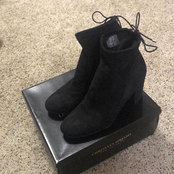 christian siriano black boots Shop